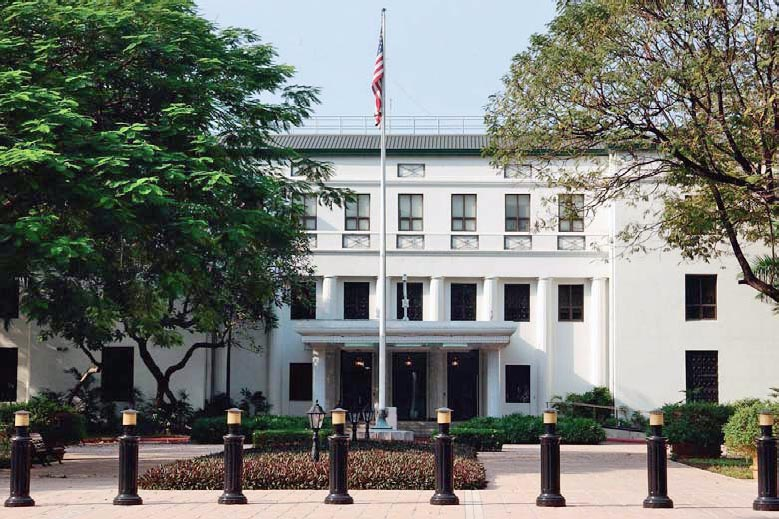 List Of Diplomatic Missions Of The United States - Us consulate dubai location map