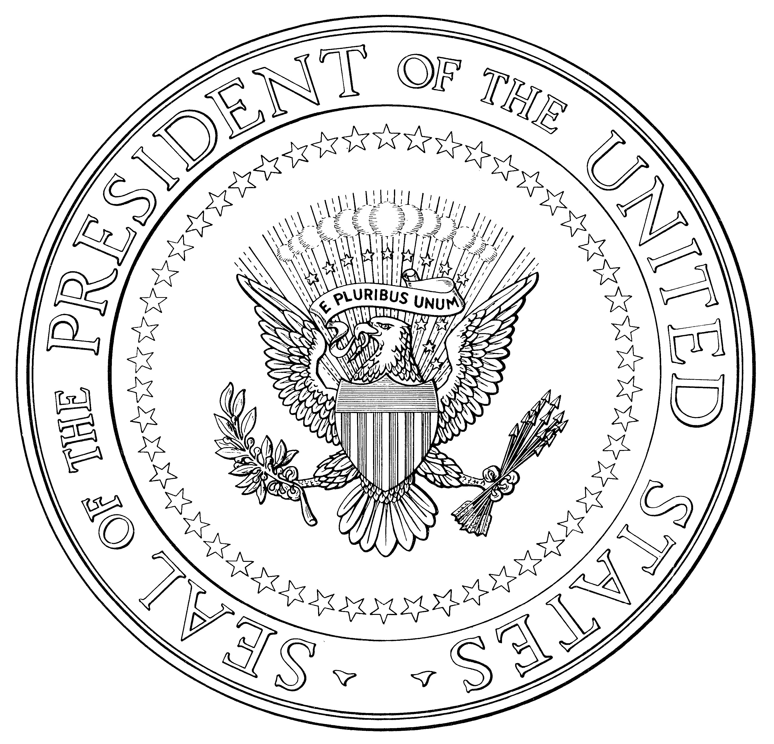Trump Changes To Oval Office Seal Of The President Of The United States