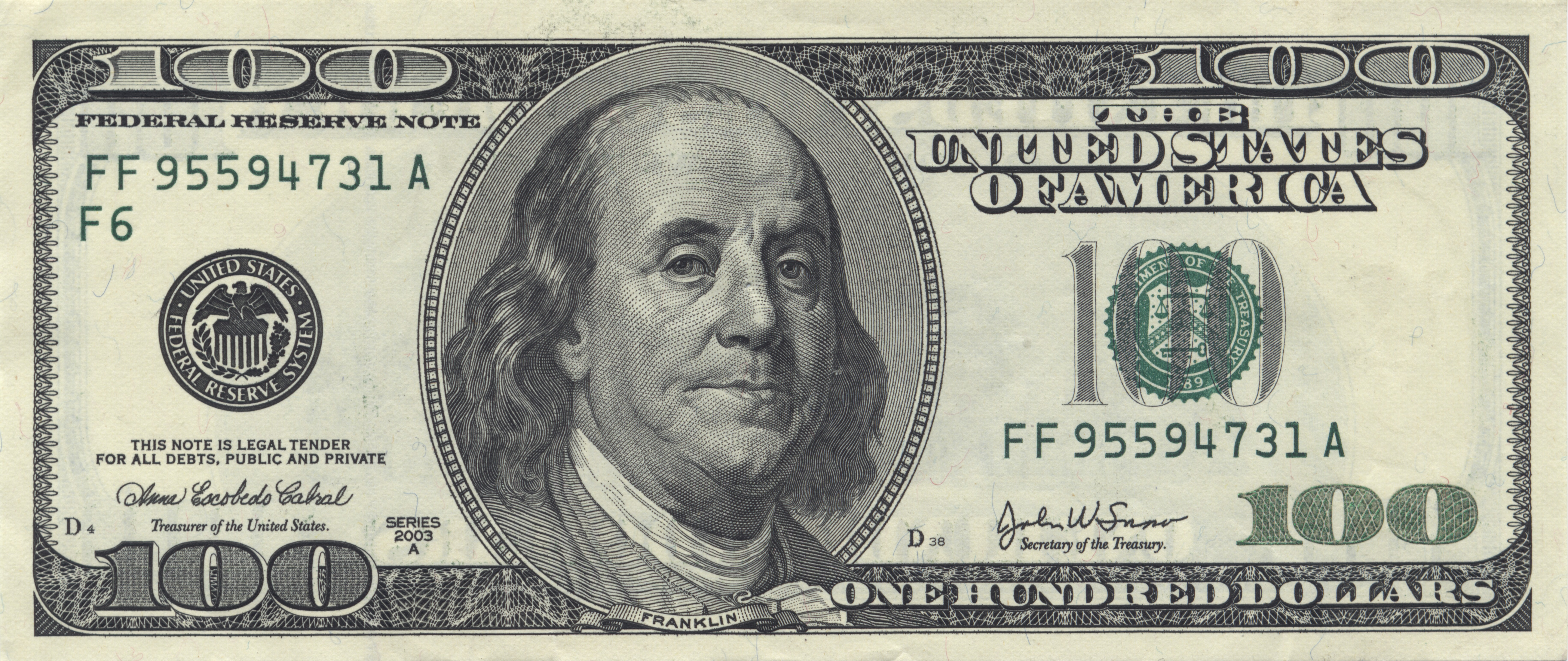 United States one hundred-dollar bill