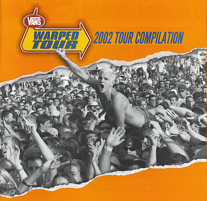 America's Hardcore compilation Warped_Tour_2002_Cover
