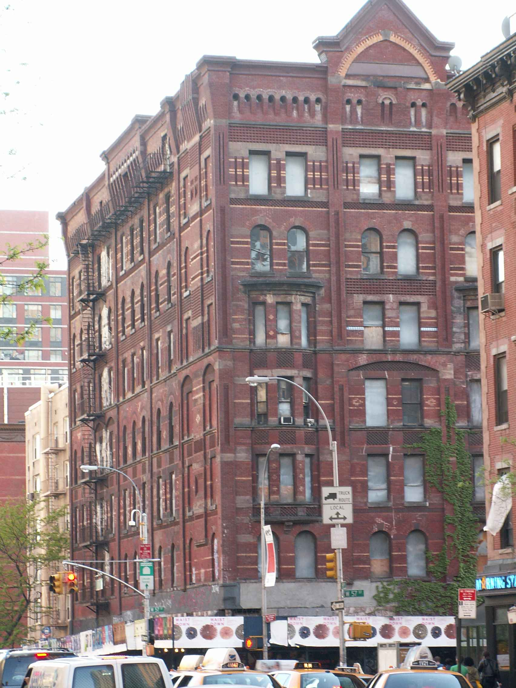 Hell S Kitchen Buildings Clinton Housing