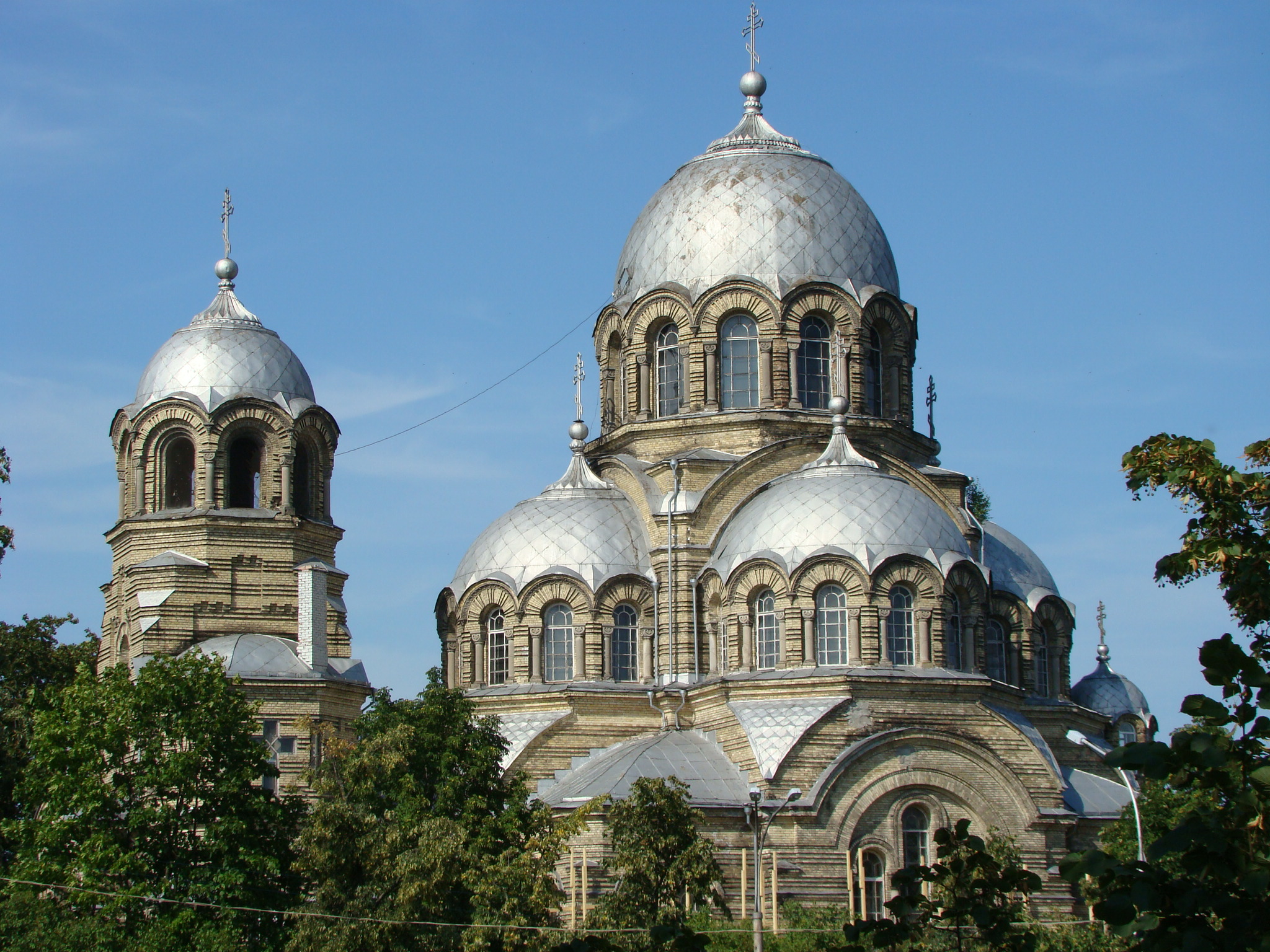 Neo byzantine architecture in the russian empire for Architecture byzantine definition