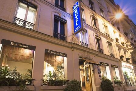 Best western jardin de cluny hotel paris paris for Hotel best western paris