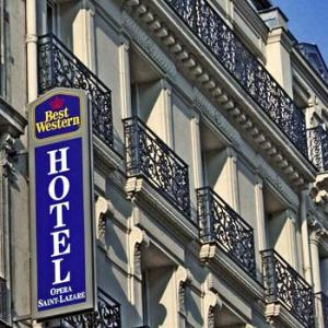 Best western opera saint lazare hotel paris paris for Ideal hotel paris