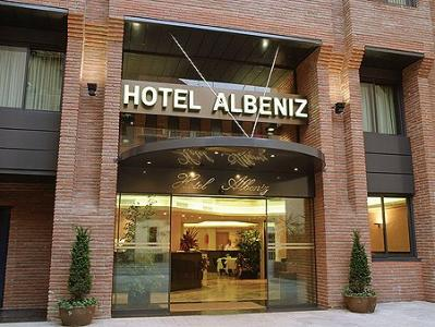 catalonia albeniz hotel barcelona barcelona. Black Bedroom Furniture Sets. Home Design Ideas