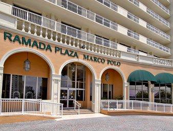 Ramada Plaza Marco Polo Beach Resort  Collins Ave